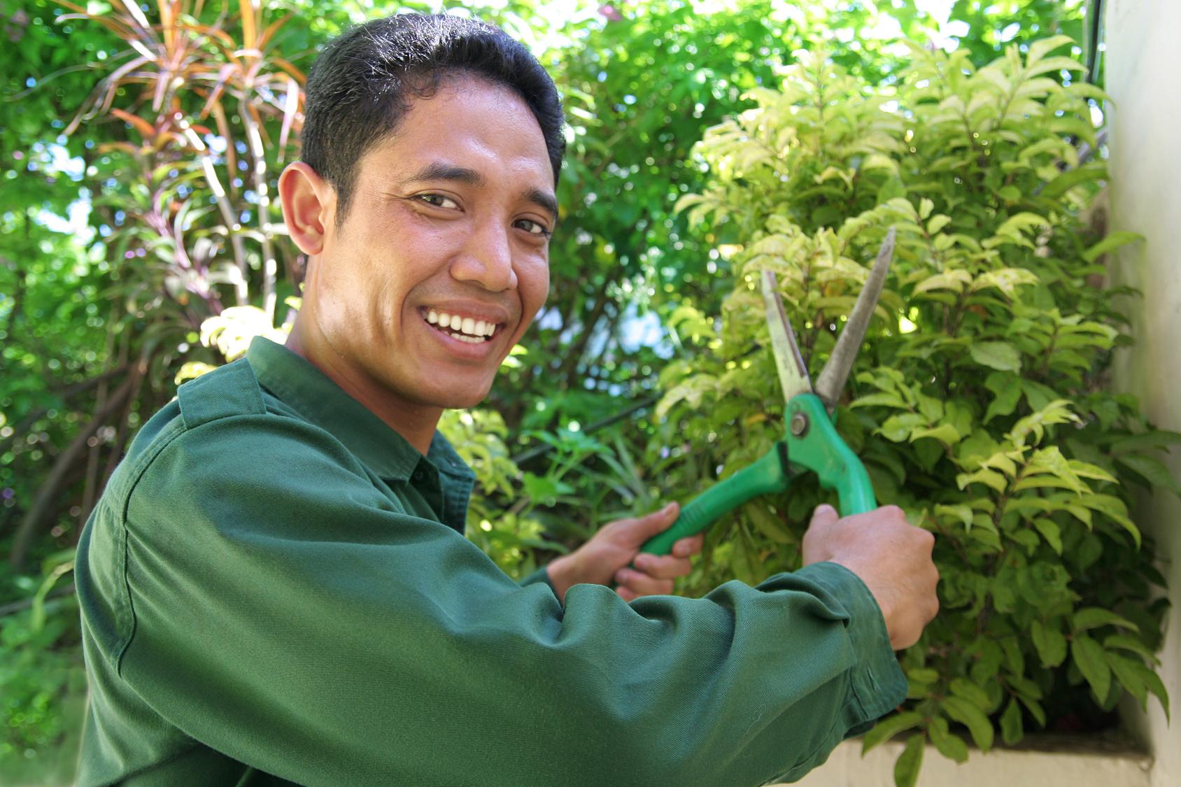 jardinage à domicile